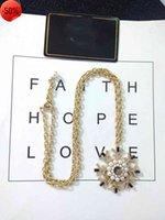 Sun Pearl Brach Snake Conse Ожерелье Xiaoxiangjia Овальная Черная Фритиллария Инкрустированная с алмазной кулонной цепью