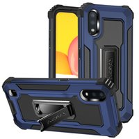 Hybrid Kickstand Holder Cases For Samsung A01 A11 A12 A22 A32 A42 A52 A72 Heavy Duty Shockproof Protection Cover