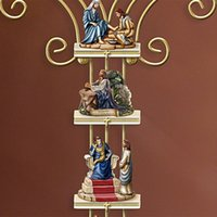 """""""The Life Of Christ"""" Collection Custom-crafted Display Cross Mural PVC Wall Sticker Decal JS23 Decorative Objects & Figurines"""