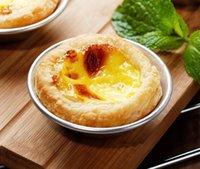 7 سنتيمتر البيض تارتس العفن كب كيك قابلة لإعادة الاستخدام جولة سبائك الألومنيوم قوالب ل الكعك الأرز على البخار tartlets الكاسترد القصدير كعكة أدوات الخبز