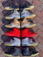 الكلاسيكية Kanyes West 1 I Blink Net Tan Zen Gray Men كرة السلة أحذية ألعاب القوى الأحذية 2 II الأحمر الشمسي NRG أكتوبر تشغيل الرياضة أحذية رياضية عالية