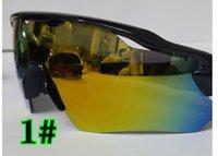 Lunettes de soleil à l'extérieur de la mode d'été pour hommes et femmes Sport Moto Lunettes de soleil Black White Cadre Sunglasse Drive Plage Verre 9Colors Matte