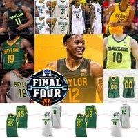 12 Jared Butler 2021 Final Dört Baylor Basketbol Jersey NCAA Koleji Ayılar Davion Mitchell Macio Teague Jackson Moffatt Jonathan Tchamwa Matthew Mayer Turner