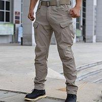 Pantalons tactiques Men's Men's Camouflage Cargo Training Outdoor Forces spéciales Archon Camo Khaki Black