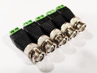 Hohe Qualität BNC-Stecker an AV-Terminals-Steckverbinderadapter für CCTV-Systeme / 20pcs