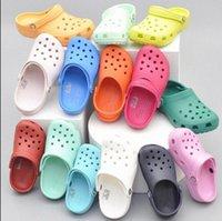 2021 캐주얼 남성 샌들에 미끄러짐 샌들 해변 방수 신발 클래식 간호 분개 병원 여성 작업 의료 신발 크기 36-45 exwl #