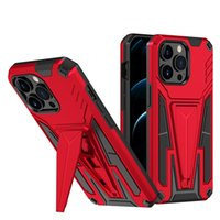 Magnetic Kickstand Cell Phone Cases for iPhone 7 8 Plus XR XS 11 12 Pro Max 13 Mini Sam S20 S21 FE Note 20 Ultra A02S A03S A52 A82 Moto G Stylus 2021 5G Xiaomi Mi 10i Back Covers
