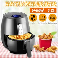 1400W 5.2L здоровье Fryer Purner Count Touch LCD Airfryer Pizza Pizza бесплатный Air Fryer Multi Function Smart Fryer для французского CF14