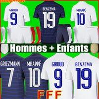 Maillot de foot Maillots football shirt 20 21 soccer jersey equipe equipment uniforms 2021 hommes enfants men + kids kit sets socks