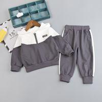 Toddler garçons vêtements automne hiver enfants vêtements hoodie + pantalon 2pcs tenue vêtements enfants costume sport pour filles vêtements vêtements Y200829 753 Y2