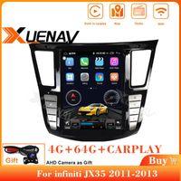 Per Infiniti JX35 Auto DVD Player GPS Navi 2011 2012 2013 Auto Radio Due DIN Careplay