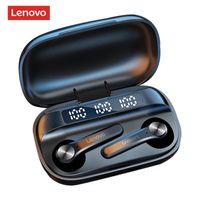TWS Bluetooth Auricolare Lenovo QT81 Wireless 5.1 Cuffie AI Control Gaming Auricolare Stereo Bass Earbuds con riduzione del rumore del microfono