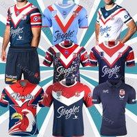 2020 2021 Avustralya Sydney Rooster Rugby Jersey 19 20 21 Mens Replica Yerli Ersey NRL Rugby Ligi Formalar Yelek