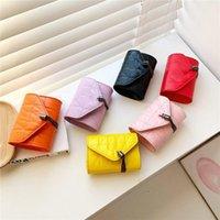 Designer Kids Handbag sweet Gilr letter Messenger Bag Children Metal chain one shoulder wallet fashion Women Mini Purse 0F104