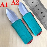 automatic KNIFE CNC T60161 handle VG10 steel blade hight quality UTX70 UTX85 BM3300 A07 UT121 14 Camping tactical pocket folding Quick opening cutting tool