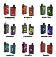 Ykang Box одноразовые вершины устройства 4000 Puffs E Cigarette аккумуляторная батарея 550 мАч, батарея 10ml сетчатая катушка с 5% Flavr 10 цветов слойки XXL