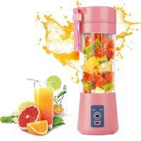 Blender Portable Glass USB Mixer Electric Orange Juicer Machine Smoothie Mini Food Lemon Squeezer Juice Press CF18