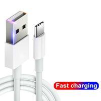 Cables USB de alta velocidad 2A CARGER FAST MICRO V8 Tipo C Cable de carga 1M 2M 3M Línea de cable para Android Teléfono móvil Huawei Samsung LG Xiaomi