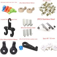 Robe Hooks 1 2 3 6 10 20Pcs Stainless Steel Plastic Family Hanging Hats Bag Key Adhesive Wall Hanger For Bathroom Kitchen