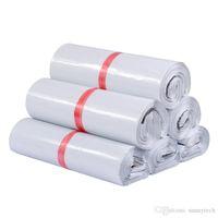 28 * 42 cm Poly Mailer Plastik Posta Çantası Nakliye Zarflar Poly Çanta Güçlü Plastik Mühür Posta Çantaları Paket Çanta LX483
