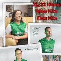 21/22 Hibernian Futebol Jerseys Home Verde Hanlon McGinn Doient Newell Football Jersey Boyle Nisbet Homens Kits Kits 2021 2022 Camisas