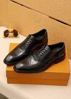 2021 мужская популярное формальное платье обувь натуральная кожа Оксфорд мужской бренд ходьба квартиры свадебные вечеринки офисные мокасины размером 38-45