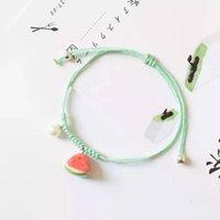 Charm Armbänder [3-5 Stück] Koreanische Version von kleinen frischen und süßen Früchten Cartoon Wassermelone Armband Freundinnen Schwestern Schmuck Fema