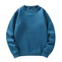 남성용 후드 스웨터 파크 라스 봄 가을 캐주얼 O 넥 양털 솔리드 컬러 스웨터 따뜻한 탑스 대형