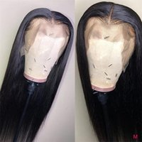 Superfect HD Transparent Lace Wigs 13x6 13x4 Front Human Hair 8-26 Inch Pre Plucked Remy Brazilian Straight Wig1