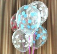 Coloré point rond clair ballons baby enfants jouets joyeux anniversaire fête mariage drôle cadeaux décorations
