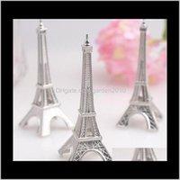 Autres Fournitures de Parti d'événement 100 PCSLOT FAVORITE DE MARIAGE EIFFEL Tour de la Tour Eiffel Porte-cartes en gros FedEx BN47 5QPtu Lmybe