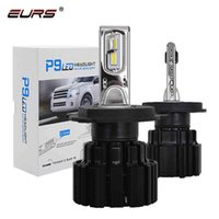 EUR SEK P9 H4 H7 bil strålkastare 100W Hi / Lo Beam H11 H8 H9 HB4 Auto LED-strålkastare H13 FOG-ljus D2S D4S HID Lampa 13600LM
