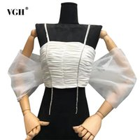 Beyaz Patchwork Elmas Örgü Yelek Kadınlar Için Kare Yaka Kolsuz Dantelli Ince Kısa Camiş Kadın Yaz Moda 210531