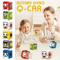 Fidget giocattoli Gyro Rotazione inerziale Auto DECOMPRESSIONE DECOMERIP SLIDE SLIDA Q Auto Auto Ruotante di punta I migliori giochi di creatività