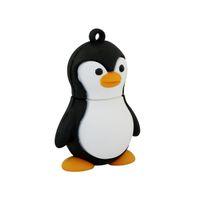 Cute Penguin USB 2.0 Pen Drives 8GB 16GB 32GB 64GB Thumb Drive Memory Stick Cartoon Creative PenDrive