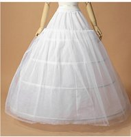 Ball Gown Wedding Petticoat with lace Underskirt Wedding Dresses 4 hoops good quality wedding accessories