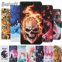 Fashion Flip Wallet Leather Case For Xiaomi Redmi Note 10 10S 9 9S 9A 9C 9T 8 8T 7 6 Pro 7A Phone Card Holder Stand Book Cover Painted