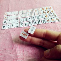 Decorative Objects & Figurines Tanduzi Cute Miniature Games  Mini Dollhouse Playing Cards 1:12 For Dolls Accessory Home Decoration