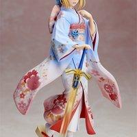 Anime Kader / Kalma Gece Sınırsız Bıçak İşleri Kimono Sabre Action Figure Figürinler Model T30 Y0705