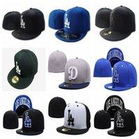 Orijinal etiketi kap ile kadın erkek en kaliteli 2021 futbol beyzbol montaj şapka unisex nakış kaps dodgers ekipleri logo hip hop spor şapka