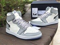 Özel Baskı Jumpman 1 1 S Yüksek Lüks Ortak Adı Basketbol Ayakkabı Erkek Bayan Moda Luxurys Tasarımcılar Eğitmenler Sneakers En Kaliteli CN8607-002 Tam Boyutu 36--47.5