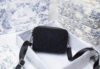 Mujer negra bolso de moda billeteras de cuero de alta calidad bolsa de silla de silla de monte diagonal