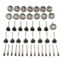 Wire Brushes Set Steel Wheel Accessories For Dremel Rotary Tools Brush