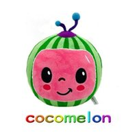 Cocomelon Plush Toy Soft Family Cocomelon JJ Sister Brother Daddy Mummy Stuffed Doll Educational Toys For Children Gift With Music FY7389
