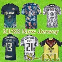 Большой размер: XXXXL Club America Soccer Jersey 22 22 Джовани Футбольная рубашка