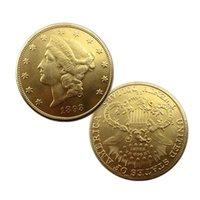El Sanatları Amerika Birleşik Devletleri 1893 Yirmi Dolar Hatıra Altın Paraları Bakır Sikke Koleksiyonu Malzemeleri