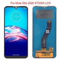 Panneaux d'origine à 100% de 6,1 pouces pour Motorola Moto E6S 2020 LCD Affichage XT2053-1 XT2053-2 XT2053-3 ASSEMBLAGE DE DIMINATEUR Écran Touch