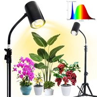 2021 Newest Plant Grow Light 3 6 12H Timing 20W Floor Lights With Stand Tripod Full Spectrum Red Blue Sunlike Lighting For Your Indoor Growth