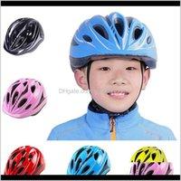 Шлемы защитные шестерни спорты на открытом воздухе падение доставки 2021 детские дети велосипедные для детей MTB дорожный велосипед велосипедный шлем сверхлегкий EPS 11hol