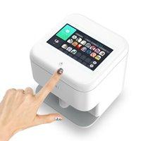 Toptan 3d Nail Art Yazıcı Kablosuz Salon Ekipmanları Ile Dokunmatik Ekran DIY Desen Fotoğraflar Baskı Makinesi Profesyonel Manikür Seti Çivi Araçları
